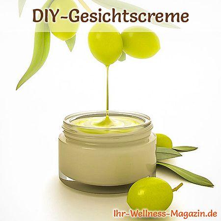 Olivenöl-Creme selber machen