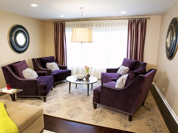 Rich Plum - Our Favorite Rooms from Meg Caswell on HGTV