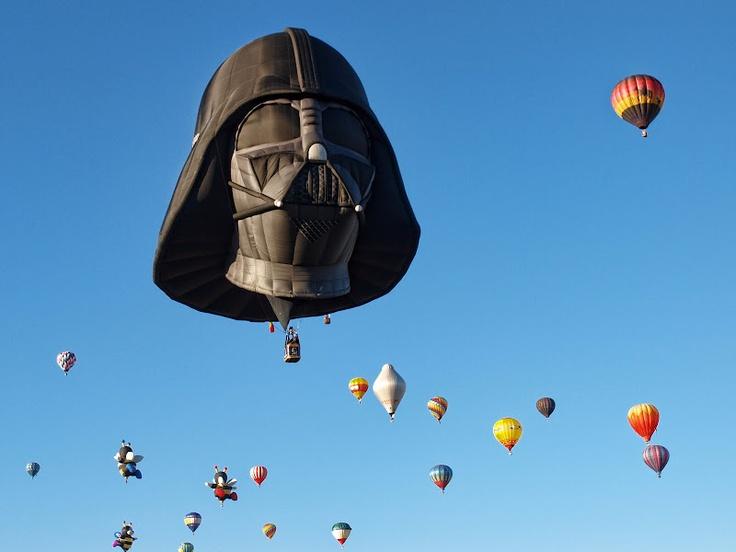 Join the dark side: Air Balloon, Photo