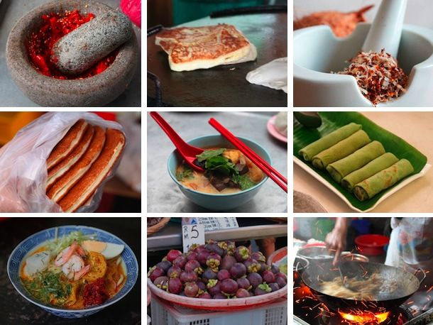 Malaysian food looks delicious!