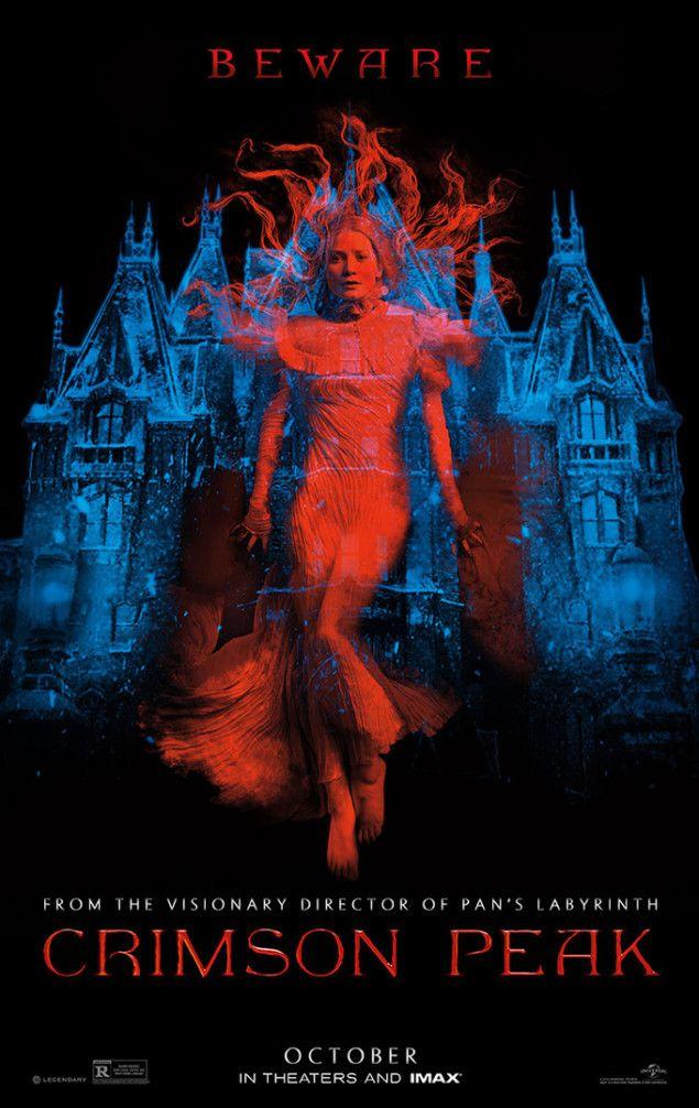 CrimsonPeak - Guillermo del Toro - Follow the podcast https://www.facebook.com/ScreenWolf and https://twitter.com/screen_wolf