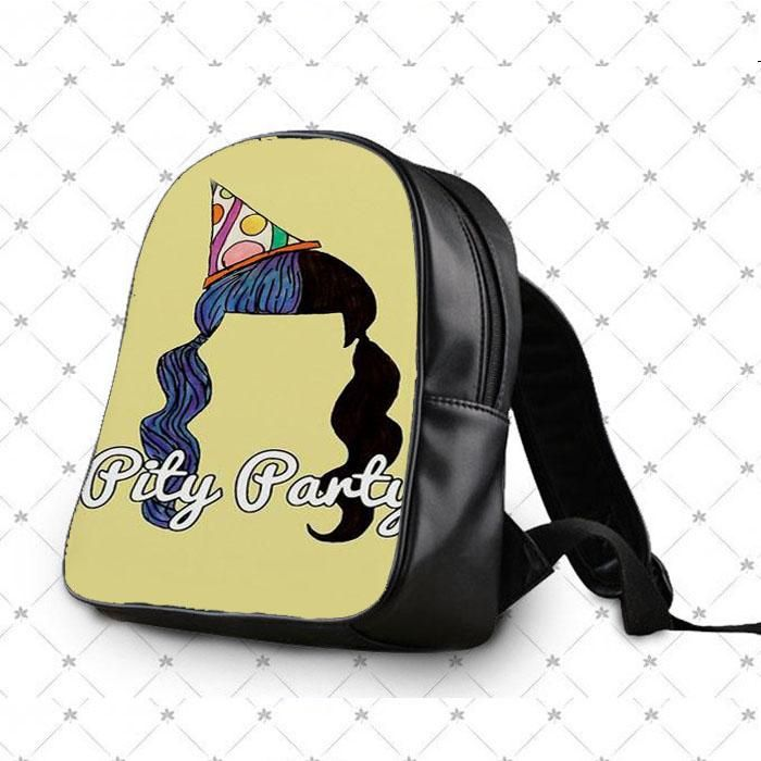 Melanie Martinez Pity Party Hair Design School Bag Backpacks