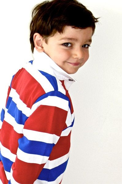 French stripe Rugby