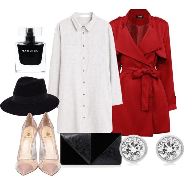 Carmen San Diego inspired by fieryice on Polyvore featuring polyvore fashion style MANGO Semilla UN United Nude Michael Kors Maison Michel Narciso Rodriguez