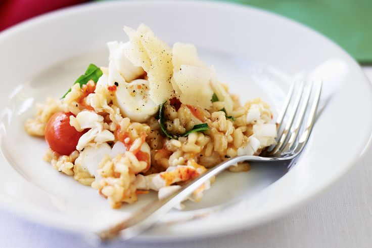 Lobster risotto, Lobsters and Risotto on Pinterest