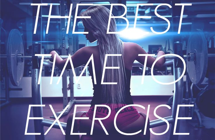 WHEN IS THE BEST TIME TO EXERCISE? Is there even such a thing as the ideal daytime to work out? Should you be forcing yourself to get up early for a morning run or is it better to squeeze your fitness routine into your schedule after a busy day at work? Here is what science has to say about time of day and physical activity.  Wann ist die beste Tageszeit für Sport? Gibt es überhaupt so etwas wie die richtige Uhrzeit zum Trainieren? Ist es sinnvoll sich für den morgendlichen Lauf aus dem Bett…