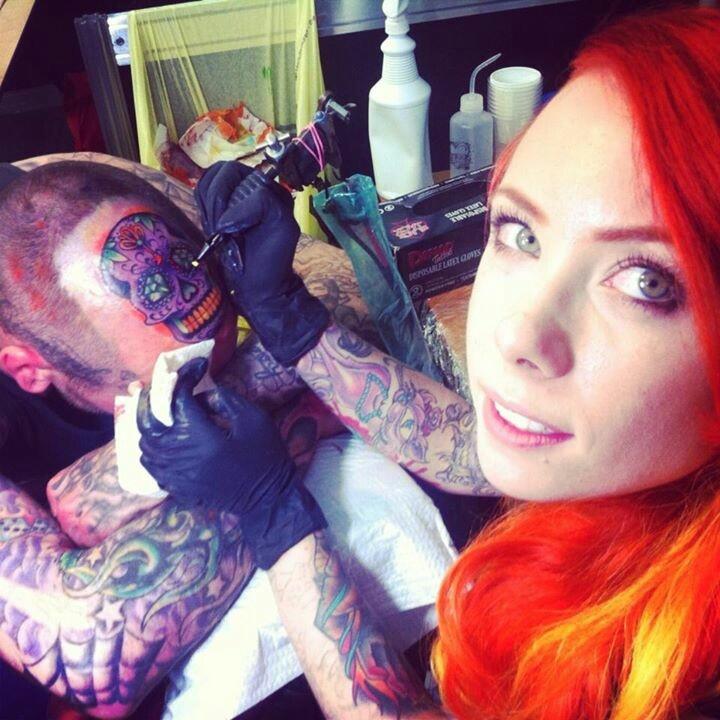 Megan mayhem tattoo artist