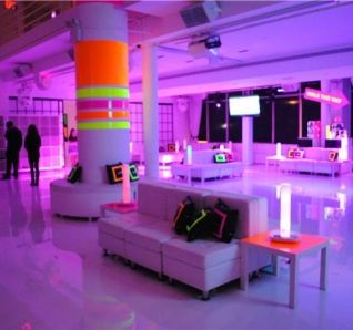 Neon Party Decorations For Columns