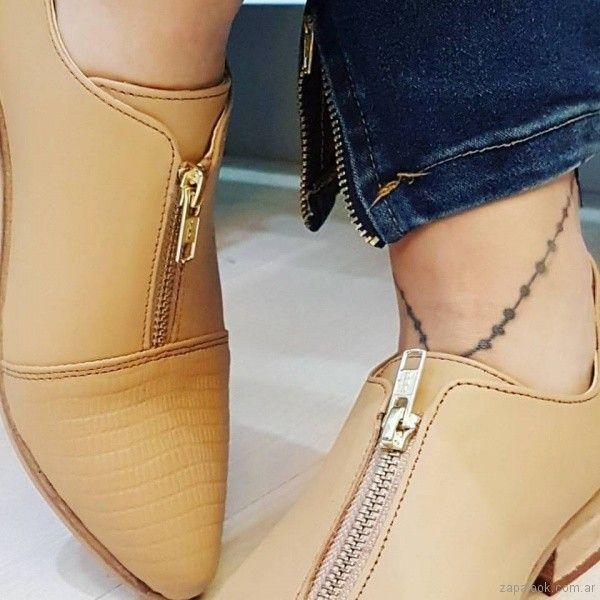 59d03743 zapatos suela con cierre primavera verano 2018 - Las Boleras | Zapalook -  Moda en Zapatos 2018
