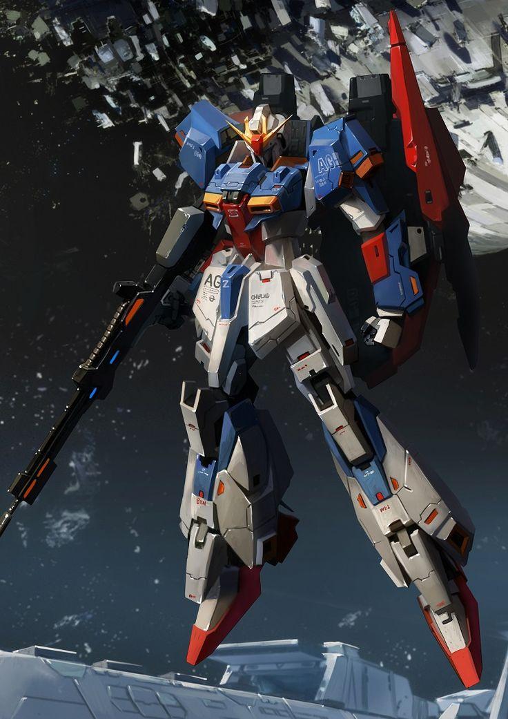 GUNDAM GUY: Awesome Gundam Digital Artworks [Updated 4/23/16]