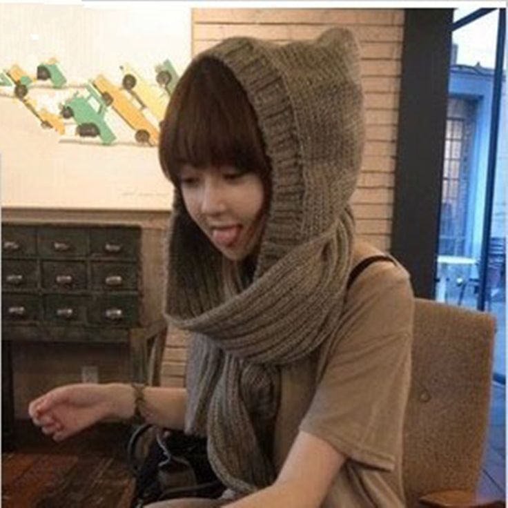 >> Click to Buy << fashion Special Korean Women winter scarf lovely double-thick wool scarves hat  #Affiliate