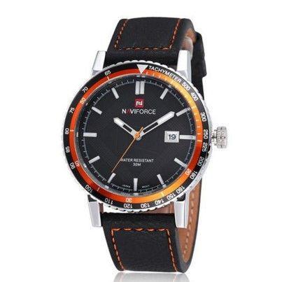 Pánské hodinky voděodolné do 30m NAVIFORCE stříbrno-oranžové – hodinky Na tento produkt se vztahuje nejen zajímavá sleva, ale také poštovné zdarma! Využij této výhodné nabídky a ušetři na poštovném, stejně jako to udělalo již velké …