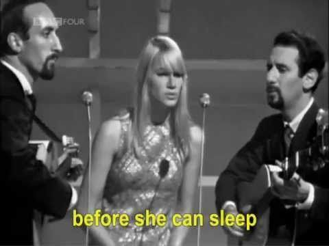 ▶ Peter, Paul and Mary - Blowing in the Wind - YouTube I grew up listening to my dad playing this on the stereo, and all their other songs too.