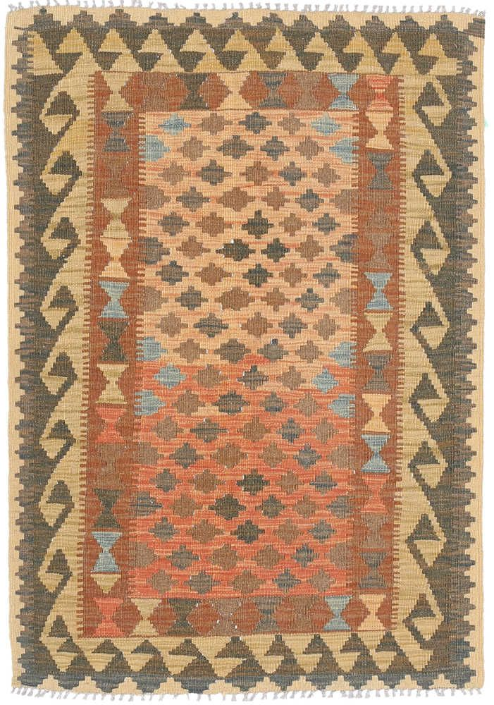 Kelim Afghan Old style matta NAZB1272