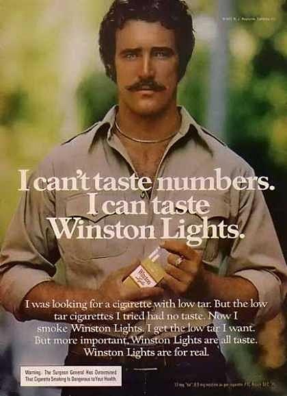 """I can't taste numbers."", Winston"