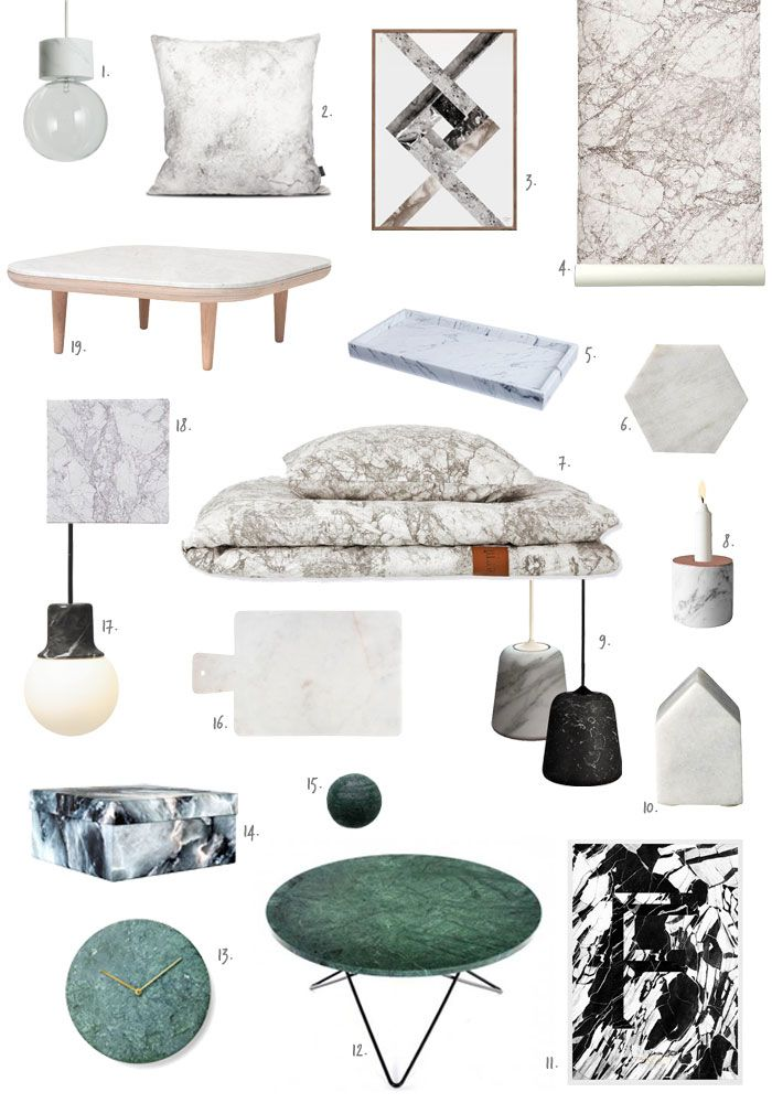 Trend to Watch: Marble | NordicDesign