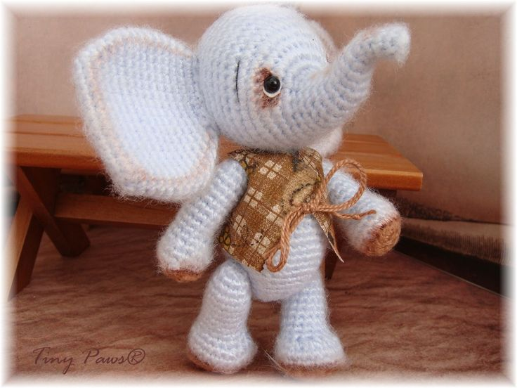 Elephant Teddy Knitting Pattern : 1000+ images about Crochet/Teddy Bears and All Stuffed ...