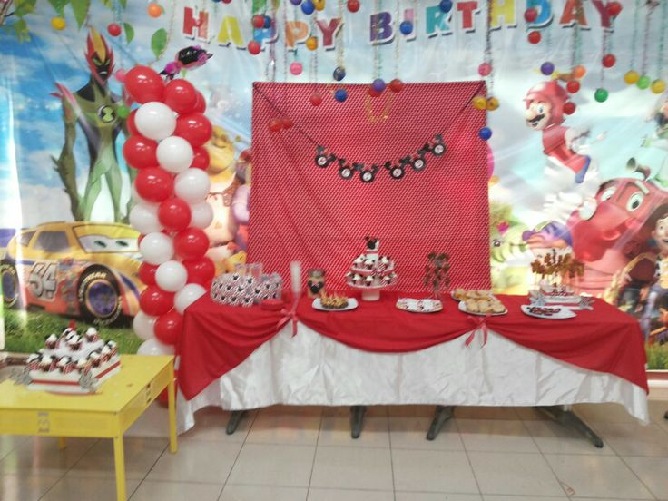 Dessert table minnie mouse