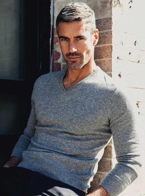 Grey Hair Styles for Men