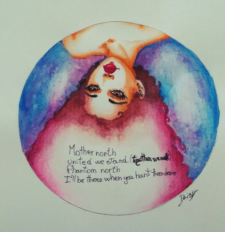 35€ ThingsMusic ( Page Facebook DaisyObscure ) #draw #daisy #watercolor #curly #relax #red #brown #blue #violet #music #metal #pencil #lips #artwork #satyricon