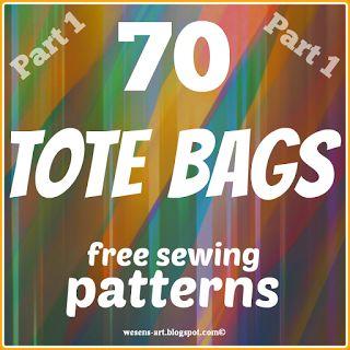 Wesens-Art: 70 Tote Bags Part 1