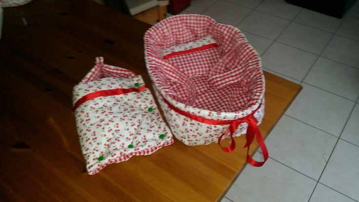 Tuto Couffin pour poupée de 30 cmC - Laine-et-Chiffons