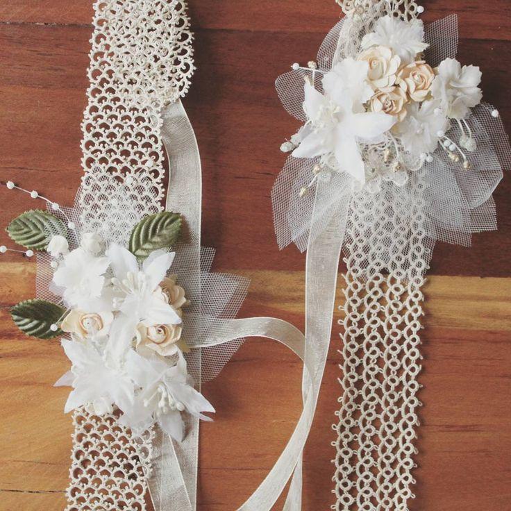 Tocados de Novia #novia #matrimonio #wedding #cintillo #tocado #chile #hechoamano Tocados y accesorios de novia Flora y Fauna