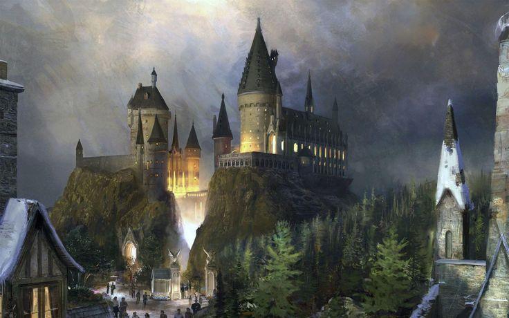 Hogwarts Castle Wallpapers Wallpaper Cave Charakter