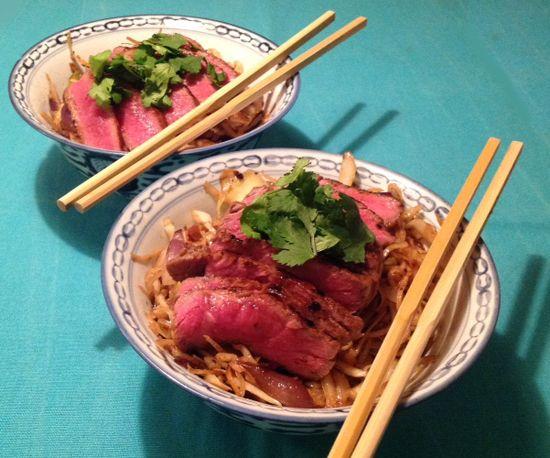 Recept snelle noedels met oestersaus - Koken met Karin