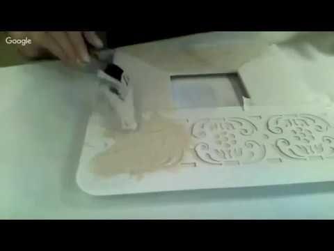 Н.Колосова. Имитация старой керамики - YouTube