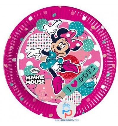 Piatti festa Minnie per il compleanno bambina e tutto il necessario online su PalaParty. Decorazioni per festa bambina, piatti festa e molto altro. Entra ora