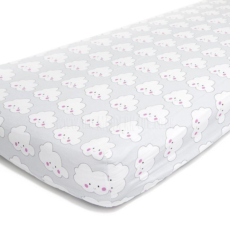 Ed Cot Bed Sheet Hy Cloud Junior