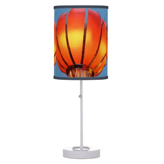 #zazzle #home #office #night #light #gift #giftidea #Chinese #Lantern #Table #Lamp