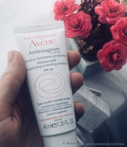 Avene ANTIROUGEURS JOUR REDNESS-RELIEF MOISTURISING PROTECTING Emulsion - review: 'How to get rid of rosacea or any redness without any specific treatments'