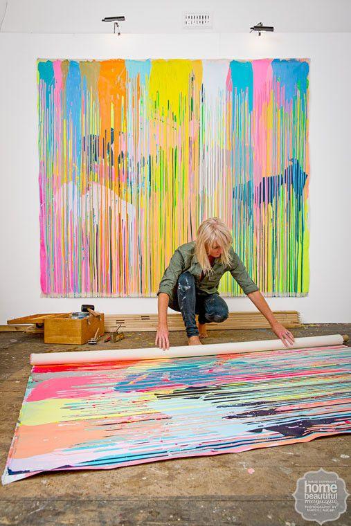 Rowena & Geoffrey's tips for aspiring artists