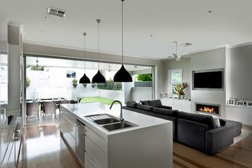 Willoughby (22).jpg - contemporary - living room - sydney - Quality Constructions