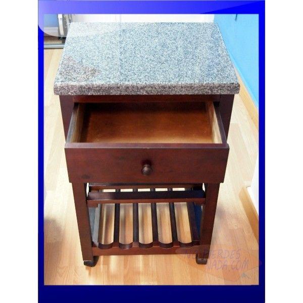 mesa cocina. habitdesign 009910o mueble auxiliar mesa cocina ...