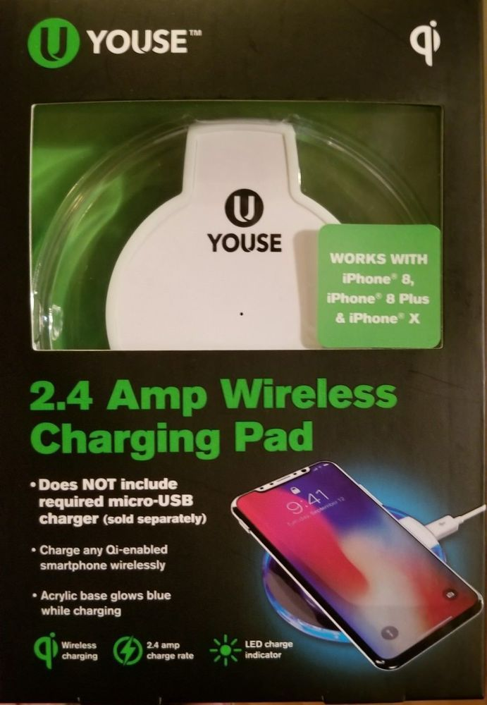 cheap for discount b5f0b 12cf3 U Youse 2.4 Amp Wireless Charging Pad   AT Solutions   Wireless ...