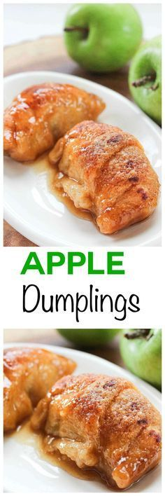 Easy Apple Dumpling