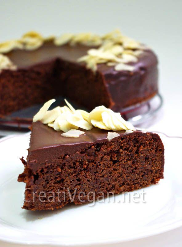 Tarta Reina de Saba vegana 1http://www.creativegan.net/ Miles de recetas creativas y o mejor... veganas!!!