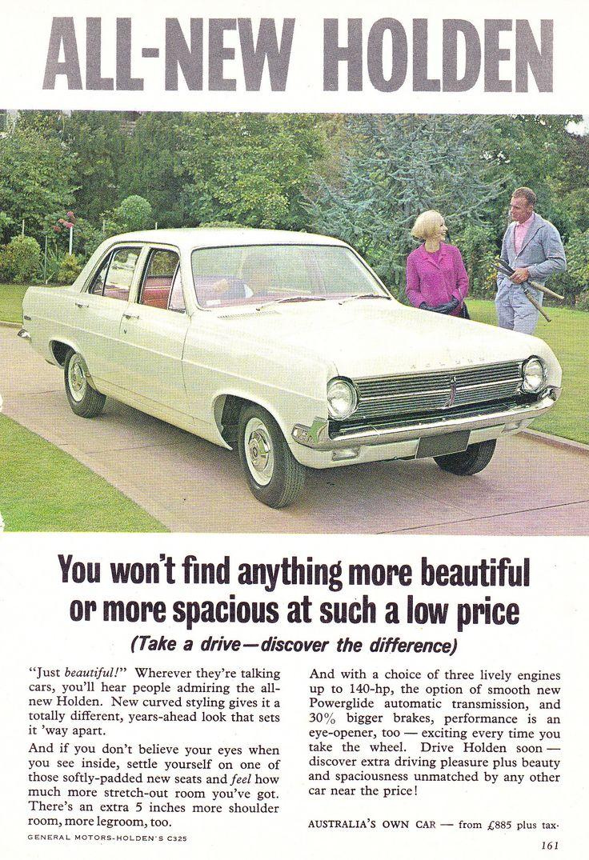 https://flic.kr/p/VqCA5e | 1965 HD Holden Sedan All New Aussie Original Magazine Advertisement