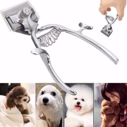 Manual Animal Pet Cat Dog Hair Trimmer Grooming Clipper Shaving Razor
