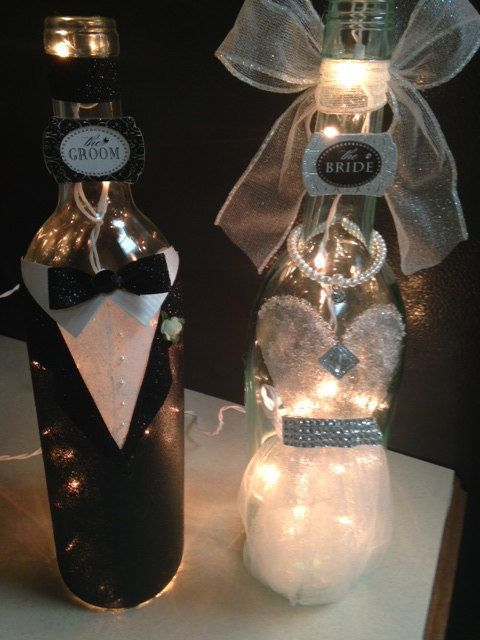 40 best decorated wine bottles for sale images on for Wine bottle crafts for sale