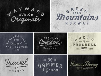 Recent work #logo #design #inspiration