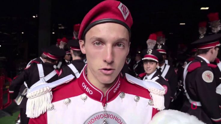 Behind The Scenes at the Ohio State Marching Band London Show at Wembley...