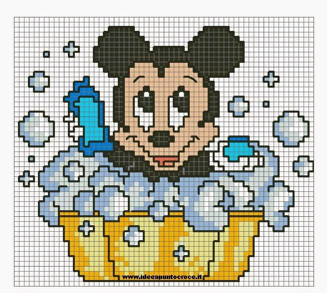 Eccezionale 186 best punto croce disney images on Pinterest | Cross stitches  WC57