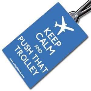 IFB Keep Calm Push Trolley £4.50 Available here http://www.ekmpowershop10.com/ekmps/shops/tags4/ifb-keep-calm-tags-776-c.asp FREE WORLDWIDE POSTAGE. Inflight Bitch travel, airlines, aviation, humour, humor, cabin crew, flight attendants, aeroplanes, funny, bitchy, aircraft, polyester, IFB, Crew Life, luggage tags, baggage, airports. Keep Calm and Carry On.