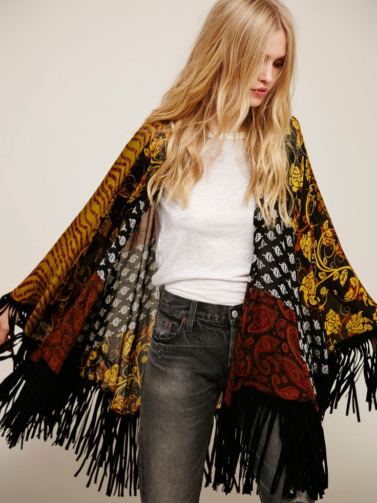 Ever After Fringe Kimono at Free People Clothing Boutique