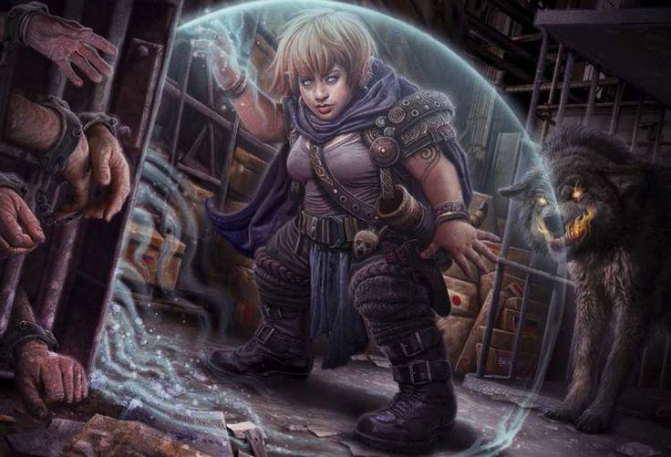 Dwarf Shaman by Victor Leza Moreno (Shadowrun 5, Stolen Souls)