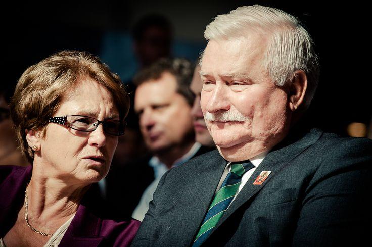 Danuta & Lech Wałęsa - Europejskie Centrum Solidarności Gdańsk, Polska. European Solidarity Center Gdansk, Poland.